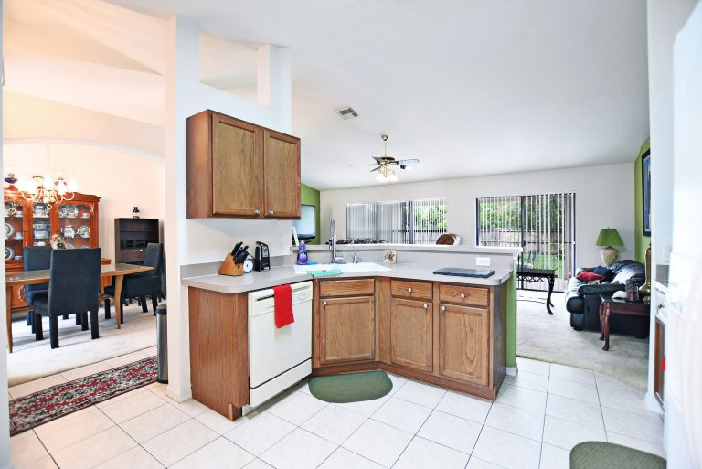 Photo by Mar10Photography, of kitchen at port Saint Lucie Property